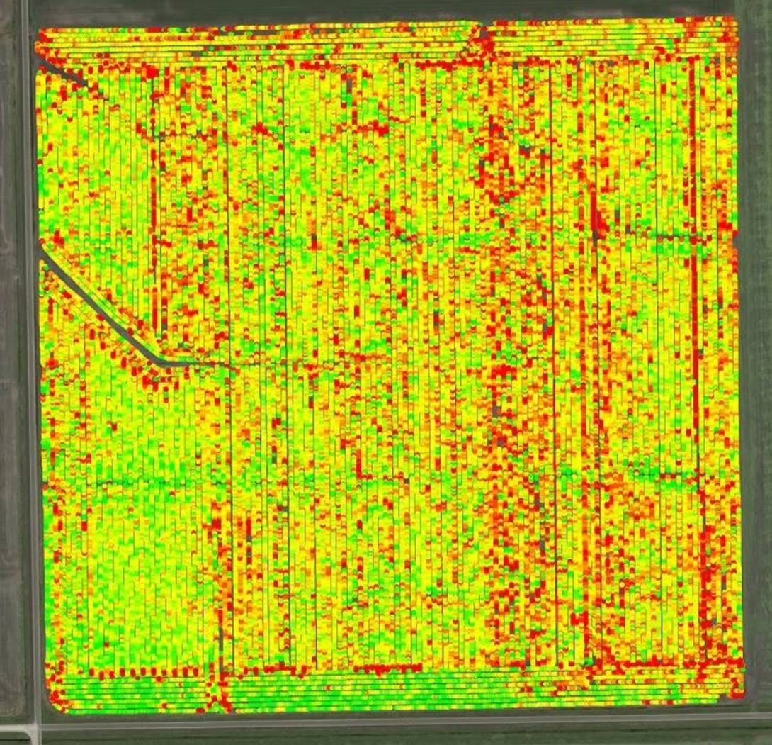 yield mapping series
